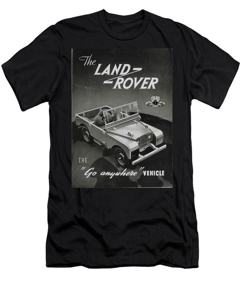 Vintage Land Rover Advert Men's T-Shirt (Athletic Fit)