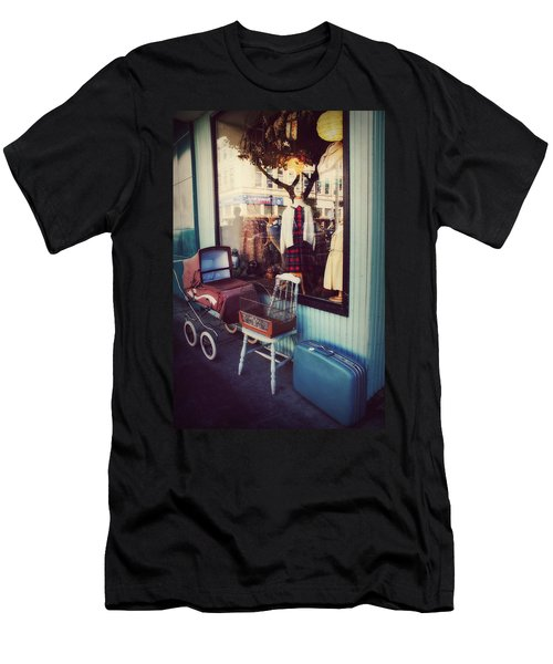Men's T-Shirt (Slim Fit) featuring the photograph Vintage Memories by Melanie Lankford Photography