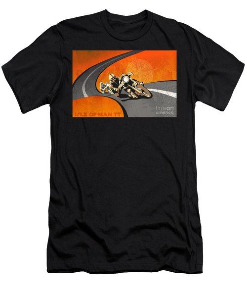 Vintage Motor Racing  Men's T-Shirt (Athletic Fit)