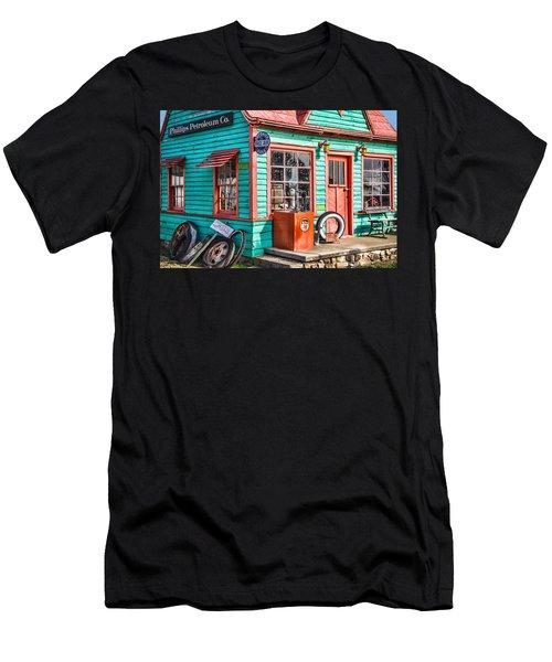 Vintage Phillips 66 Gas Men's T-Shirt (Slim Fit) by Steven Bateson