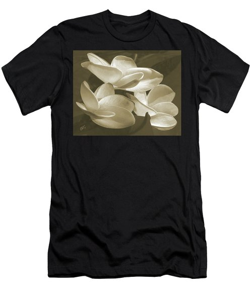 Vintage Plumeria Trio Men's T-Shirt (Athletic Fit)