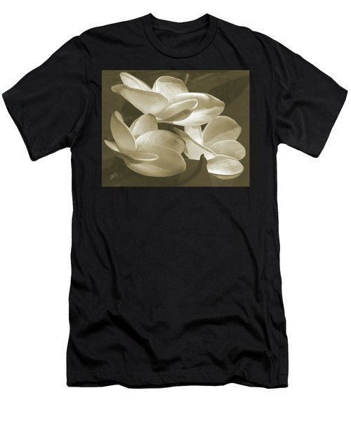 Vintage Plumeria Trio Men's T-Shirt (Athletic Fit)