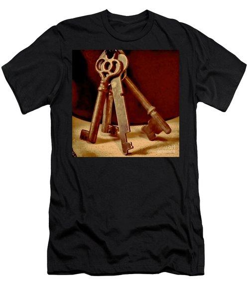 Vintage Skeleton Keys I Men's T-Shirt (Athletic Fit)