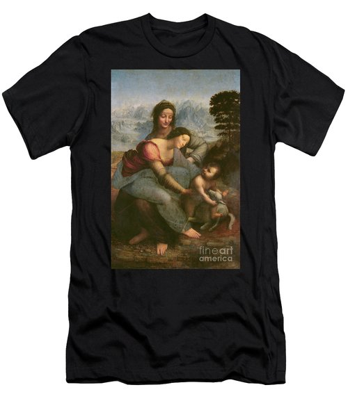 Virgin And Child With Saint Anne Men's T-Shirt (Athletic Fit)