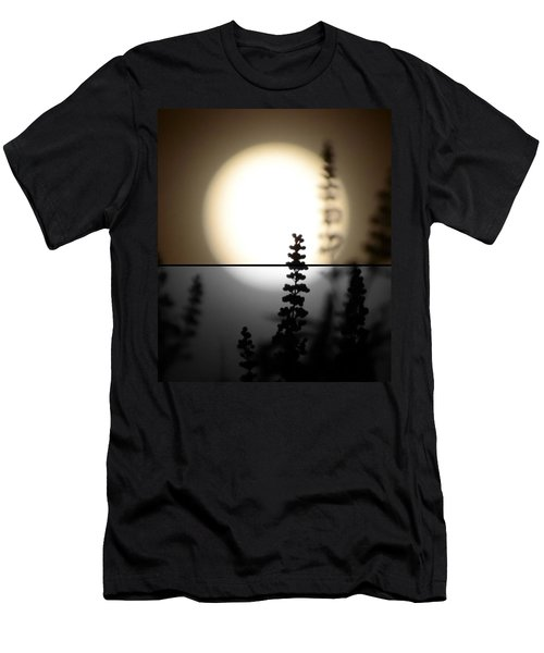 Men's T-Shirt (Slim Fit) featuring the photograph Vitex Moon by Charlotte Schafer