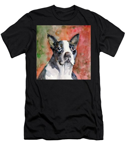 Vodka - French Bulldog Men's T-Shirt (Athletic Fit)