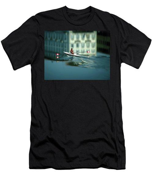 Volo A Vela  Men's T-Shirt (Athletic Fit)