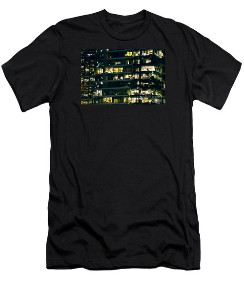 Men's T-Shirt (Slim Fit) featuring the photograph Voyeuristic Work Cclxvii by Amyn Nasser