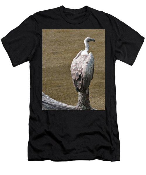 Vulture On Guard Men's T-Shirt (Athletic Fit)