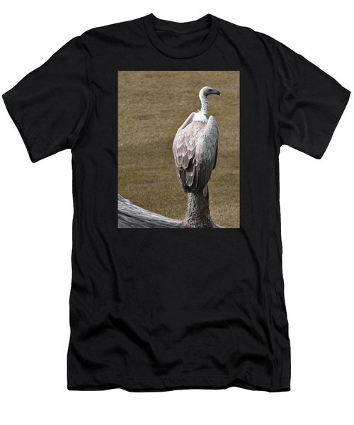 Vulture On Guard Men's T-Shirt (Athletic Fit)