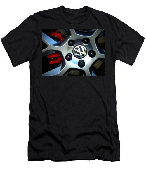 Vw Gti Wheel Men's T-Shirt (Athletic Fit)