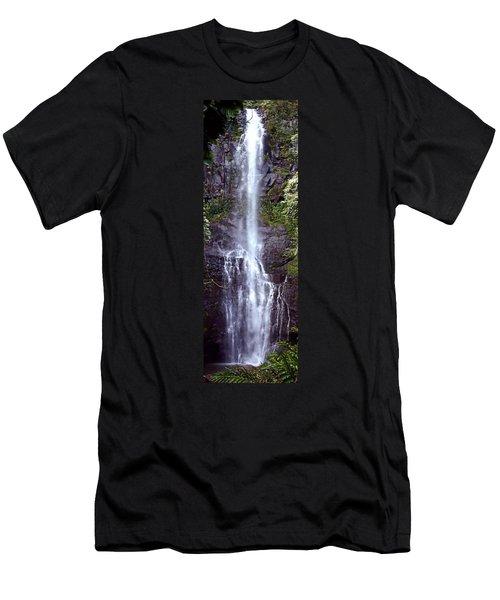 Wailua Falls Maui Hawaii Men's T-Shirt (Athletic Fit)