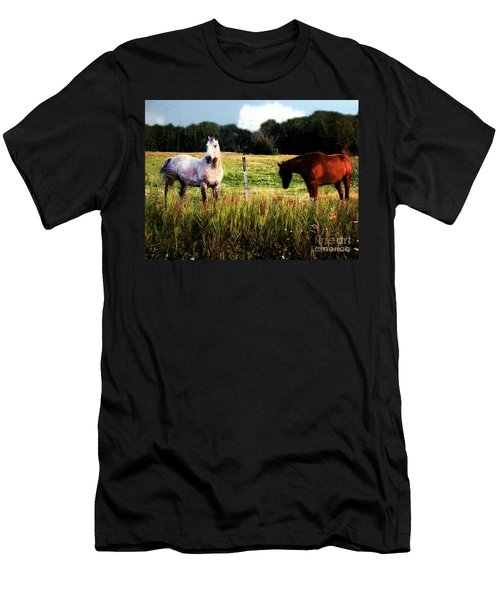 Waiting For Apples Men's T-Shirt (Athletic Fit)