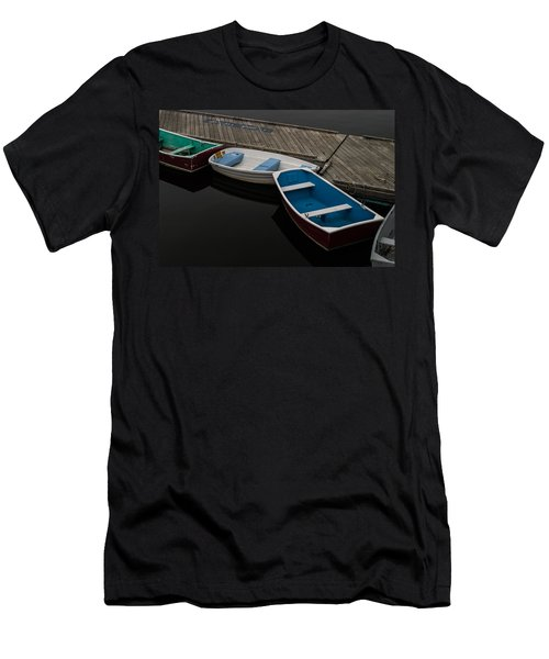 Men's T-Shirt (Slim Fit) featuring the photograph Waiting For Duty by Jeff Folger