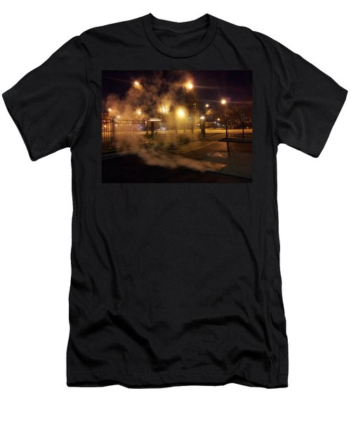 Waiting For The Bus Men's T-Shirt (Athletic Fit)