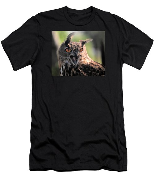 Men's T-Shirt (Slim Fit) featuring the photograph Wake Up by Leticia Latocki