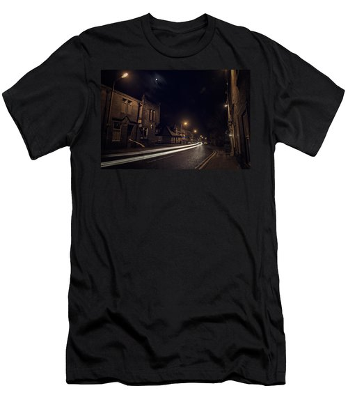Men's T-Shirt (Athletic Fit) featuring the photograph Walk On The Wide Side by Doug Gibbons