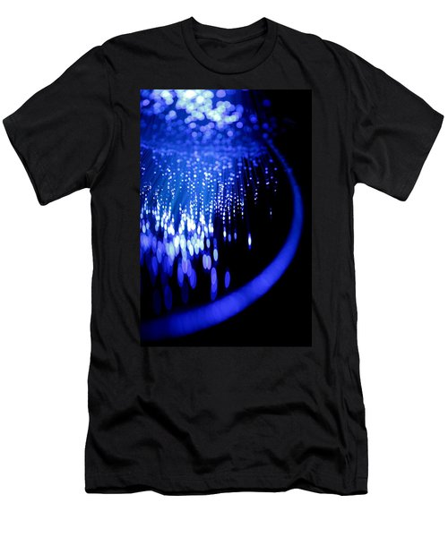 Men's T-Shirt (Slim Fit) featuring the photograph Walking On The Moon by Dazzle Zazz