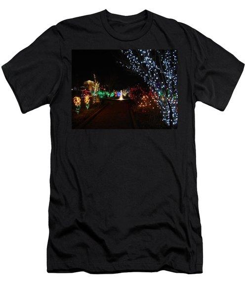 Walking Toward A Spectrum Of Delight Men's T-Shirt (Athletic Fit)