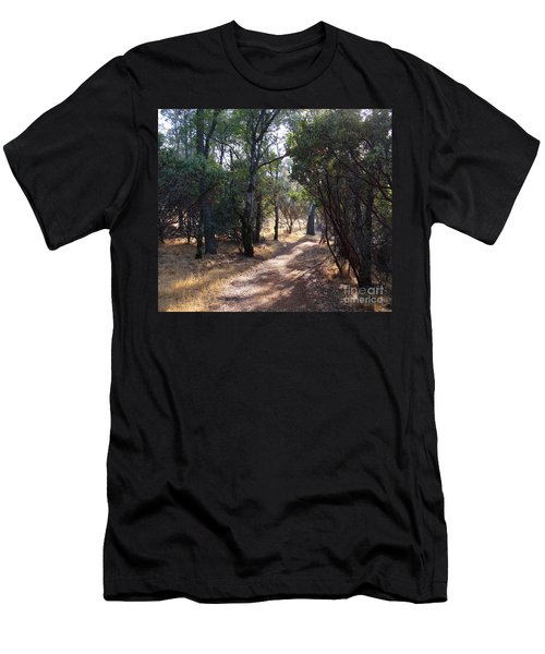 Walking Trail Men's T-Shirt (Athletic Fit)