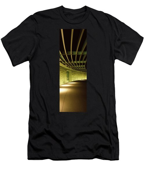 Walkway Of A City Hall, San Jose City Men's T-Shirt (Athletic Fit)