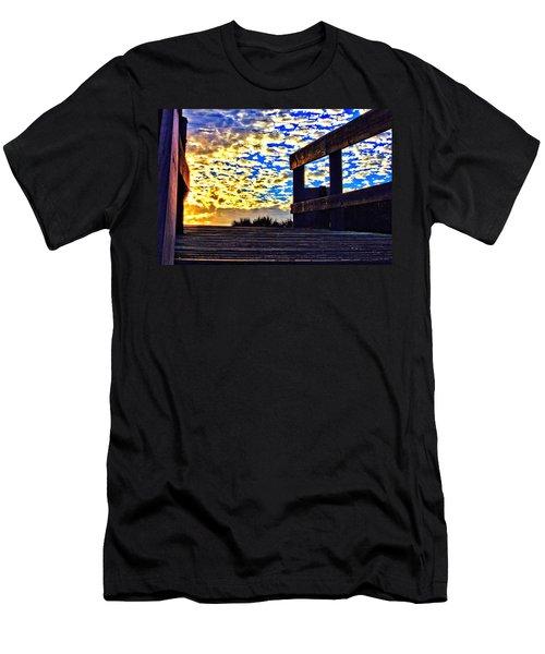 Walkway To Heaven Men's T-Shirt (Athletic Fit)