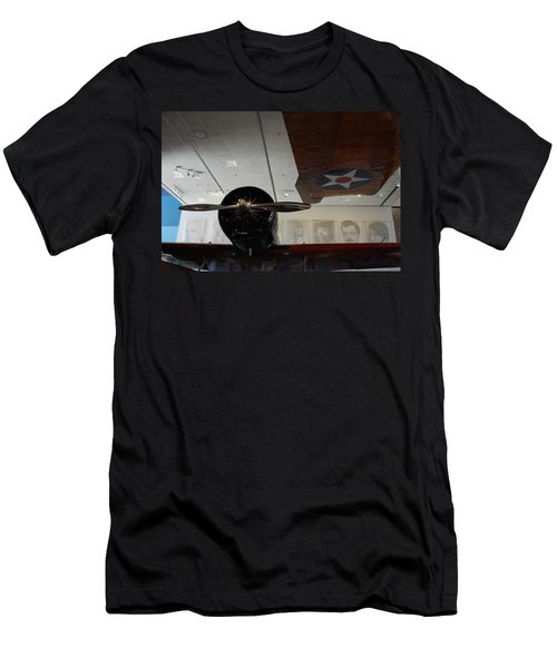 Wall Of Great Aviators Men's T-Shirt (Athletic Fit)