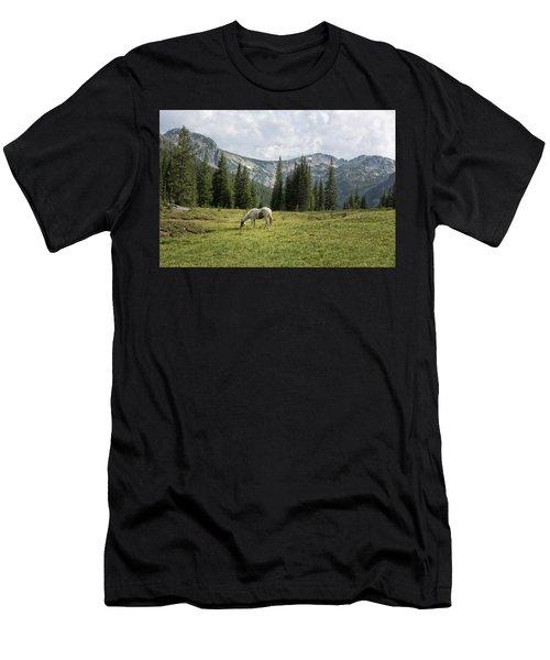 Wallowas - No. 2 Men's T-Shirt (Athletic Fit)