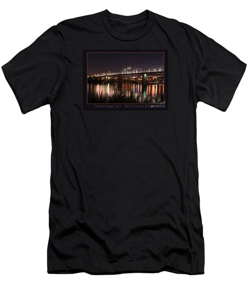 Men's T-Shirt (Slim Fit) featuring the photograph Walnut At Night by Geraldine DeBoer