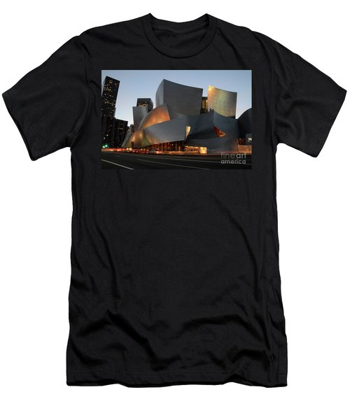 Walt Disney Concert Hall 21 Men's T-Shirt (Slim Fit) by Bob Christopher