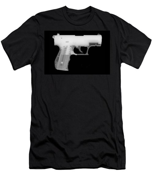 Walther P22 Reverse Men's T-Shirt (Athletic Fit)