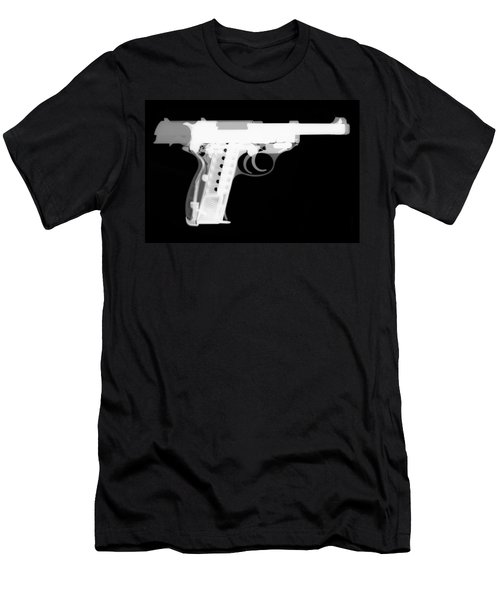 Walther P38 Reverse Men's T-Shirt (Athletic Fit)