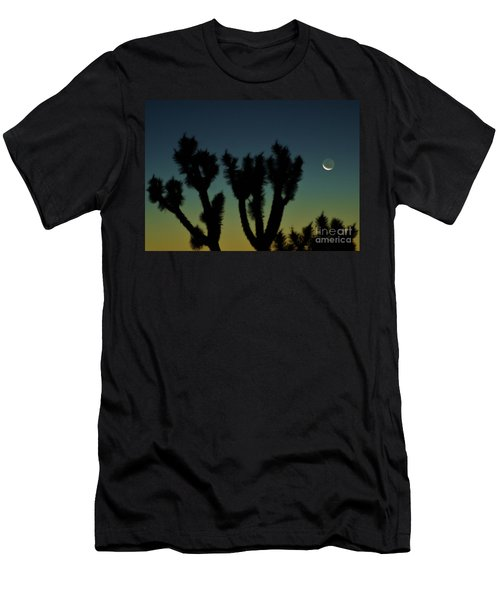 Men's T-Shirt (Slim Fit) featuring the photograph Waning by Angela J Wright