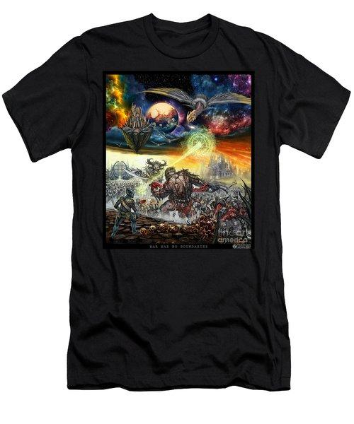 War Has No Boundaries  Men's T-Shirt (Athletic Fit)