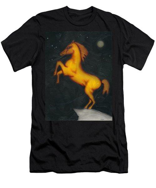 War Horse. Men's T-Shirt (Slim Fit) by Kenneth Clarke