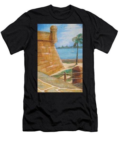 Warm Days In St. Augustine Men's T-Shirt (Athletic Fit)