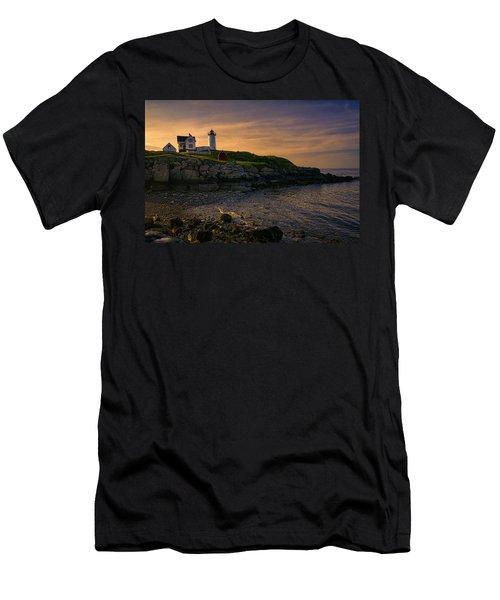 Warm Nubble Dawn Men's T-Shirt (Athletic Fit)