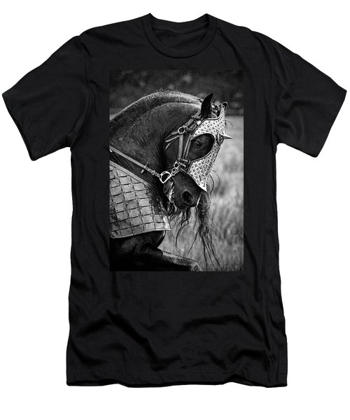 Warrior Horse Men's T-Shirt (Slim Fit) by Wes and Dotty Weber