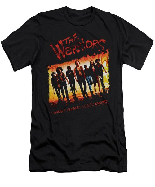 Warriors - One Gang Men's T-Shirt (Athletic Fit)