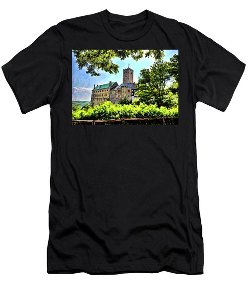 Wartburg Castle - Eisenach Germany - 1 Men's T-Shirt (Athletic Fit)