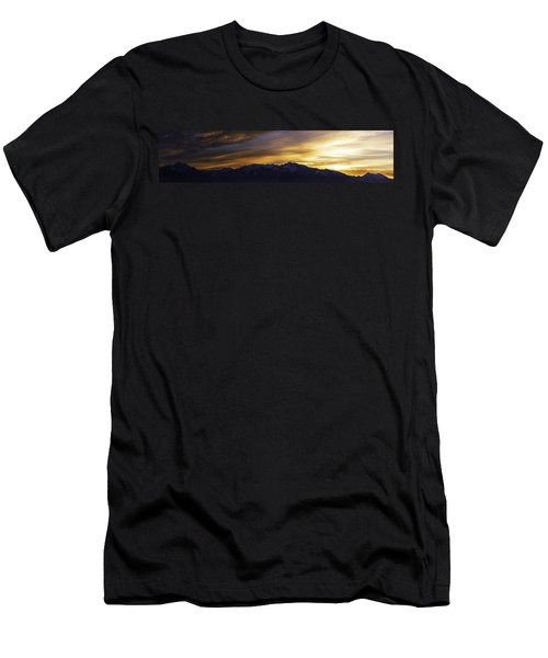 Wasatch Dawn Men's T-Shirt (Athletic Fit)