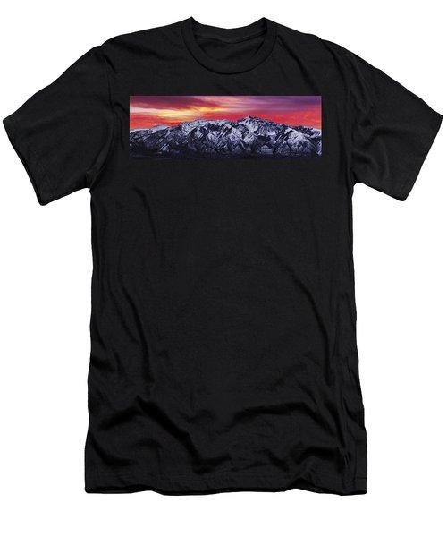 Wasatch Sunrise 3x1 Men's T-Shirt (Athletic Fit)
