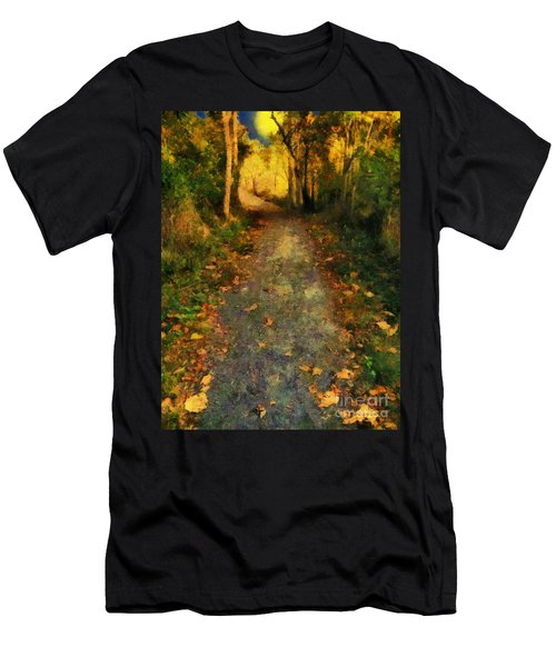 Washed In Gold Men's T-Shirt (Athletic Fit)