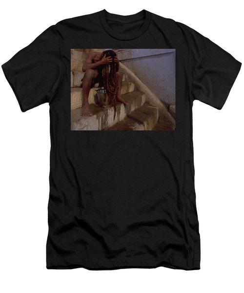 Varanasi Hair Wash Men's T-Shirt (Athletic Fit)