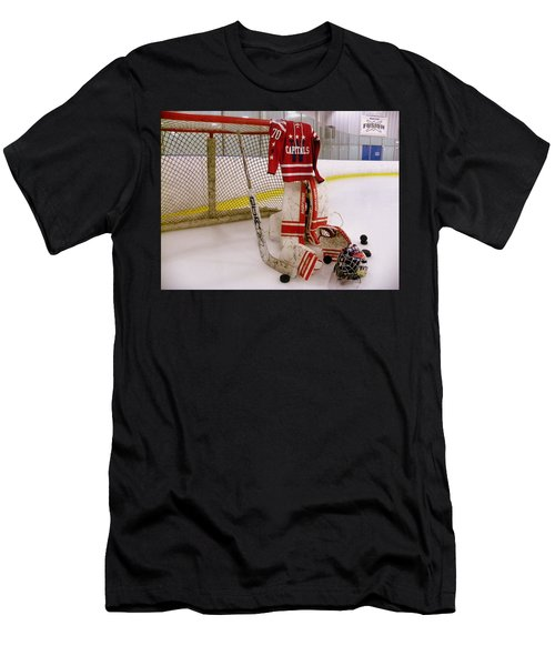 Washington Capitals Braden Holtby Winter Classic 2015 Jersey Men's T-Shirt (Athletic Fit)