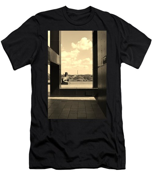 Men's T-Shirt (Slim Fit) featuring the photograph Washington Dc Framed by Jean Goodwin Brooks