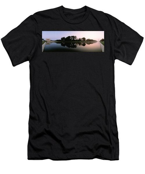 Washington Dc Men's T-Shirt (Slim Fit) by Panoramic Images