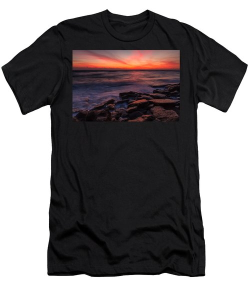 Washington Oaks Winter Sunrise Men's T-Shirt (Athletic Fit)