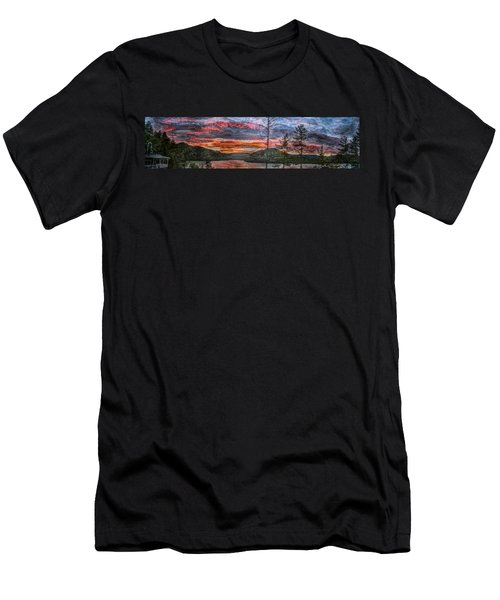 Watauga Lake Sunset Men's T-Shirt (Athletic Fit)