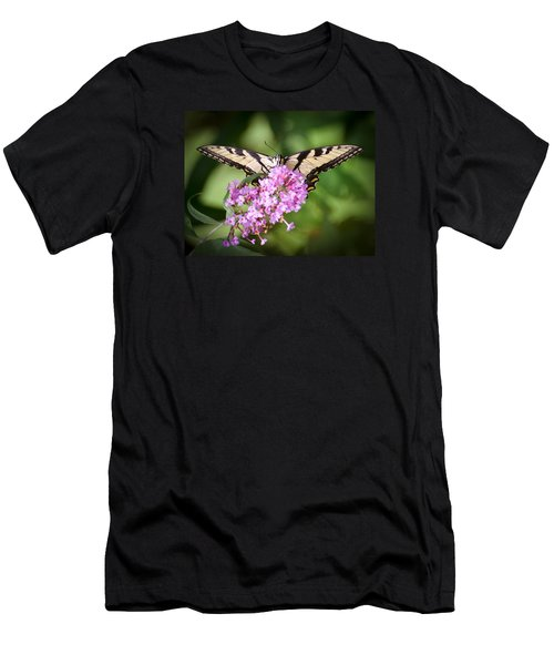 Men's T-Shirt (Slim Fit) featuring the photograph Watching by Kerri Farley